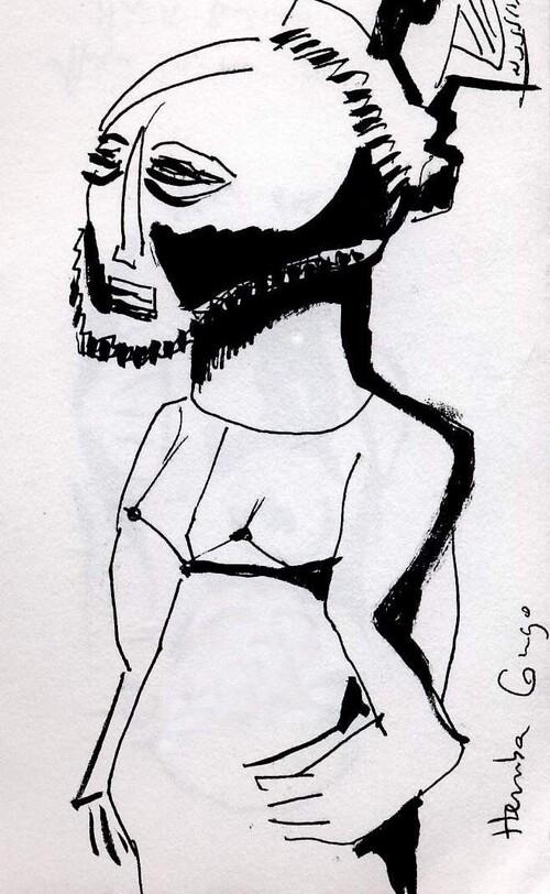 influences  artistiques:  l'art Africain