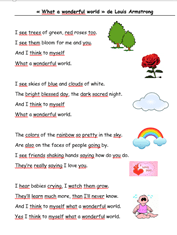 What A Wonderful World Paroles : wonderful, world, paroles, Wonderful, World, Bonydé