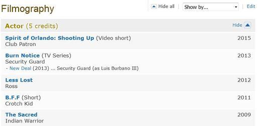 Burbano imdb