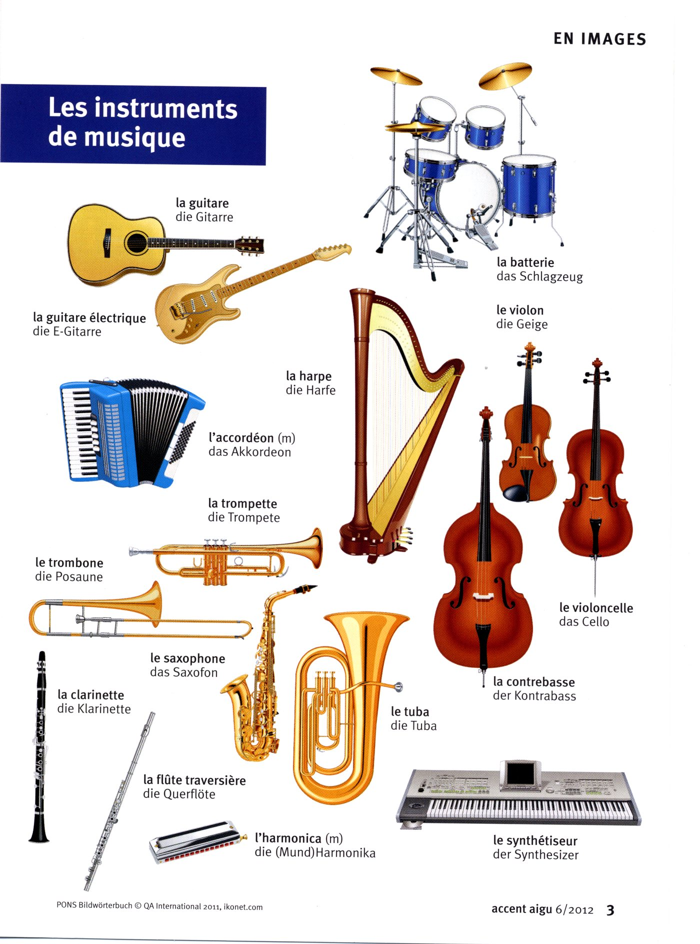 Musique And Instruments