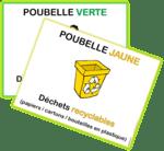 Affiches pour les poubelles (tri des déchets)
