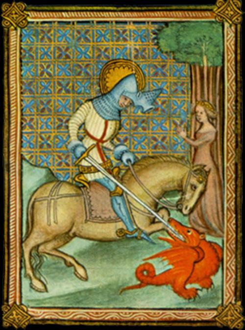 Saint Georges et le dragon - La Légende dorée