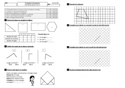 Evaluations Cap maths CE1