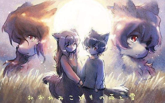 """Résultat de recherche d'images pour """"Ame et Yuki les enfants loups"""""""