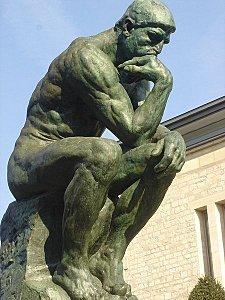 Le Penseur De Rodin Dessin : penseur, rodin, dessin, Penseur, Rodin, Sortez, Cahiers