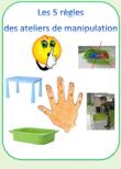 Ateliers de manipulations en autonomie: projet et mise en place