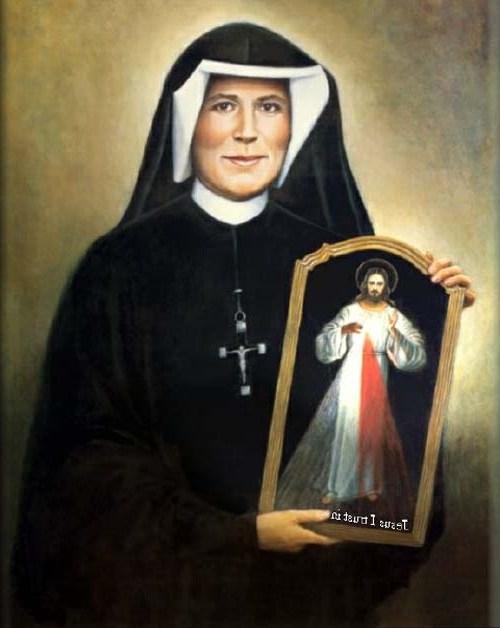 Sœur Faustine Kowalska - Rue des 9 Templiers