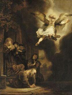 Illustrations et peintures : Raphaël et Tobie