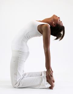 usthasana chameau ouverture bassin yoga&vedas