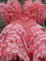 Robe d'une danseuse espagnole