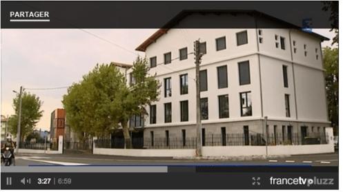 Ecole Donibane Ste Famille à la TV France 3 Euskal Herri