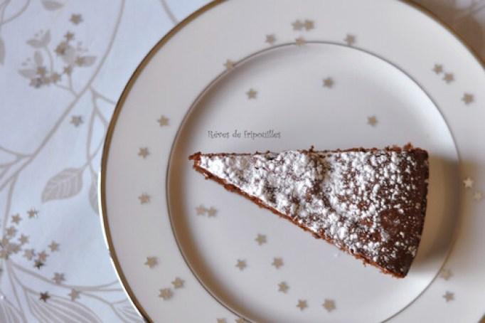 Le bon gâteau au chocolat du goûter