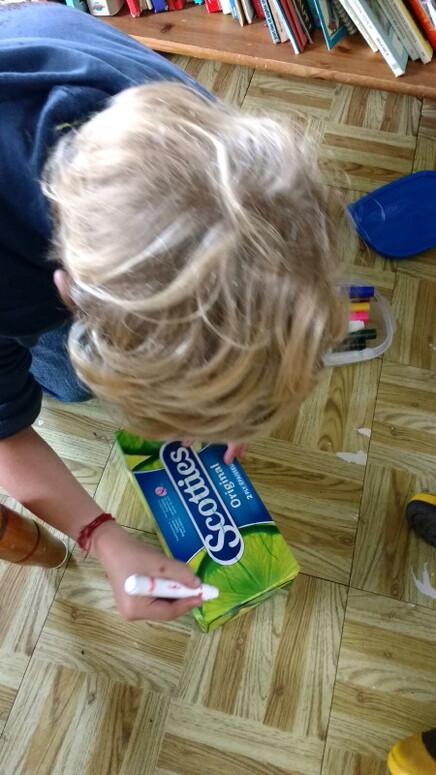 Le fabuleux destin d'une boite de mouchoirs