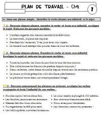 Plan de travail n°1 - 2012/2013