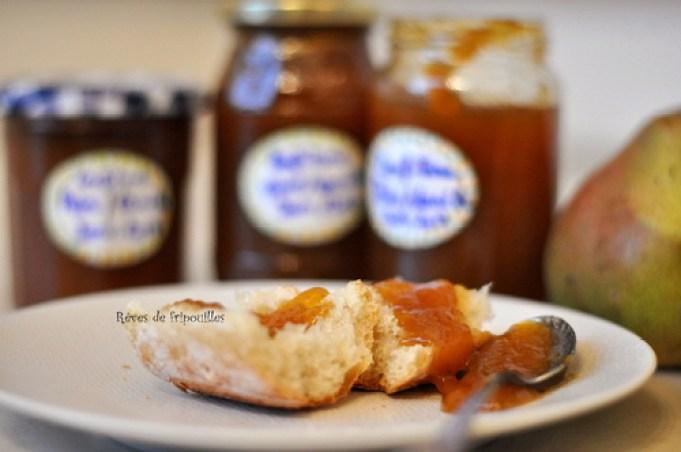 Ma délicieuse recette de confiture de poires à la vanille