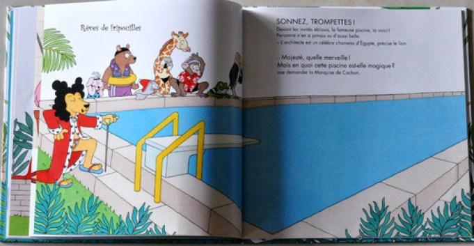 La piscine magique de Carl Norac et Clothilde Delacroix éd Didier Jeunesse
