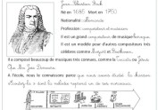 Carte d'identite instruments et musiciens