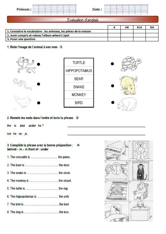 Matériel Scolaire En Anglais Cycle 3 évaluation : matériel, scolaire, anglais, cycle, évaluation, Anglais, (petit), Carnet, D'Amélise
