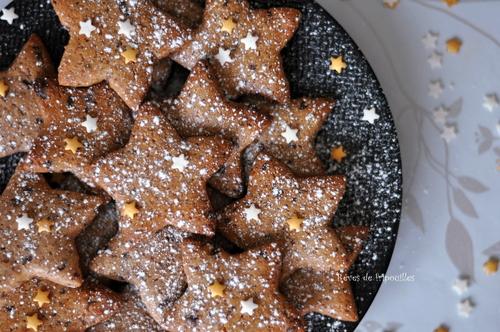 Etoiles de Noël au chocolat, la magie de Noël