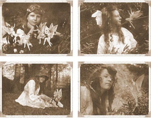 Les deux petites filles anglaises et les fées.