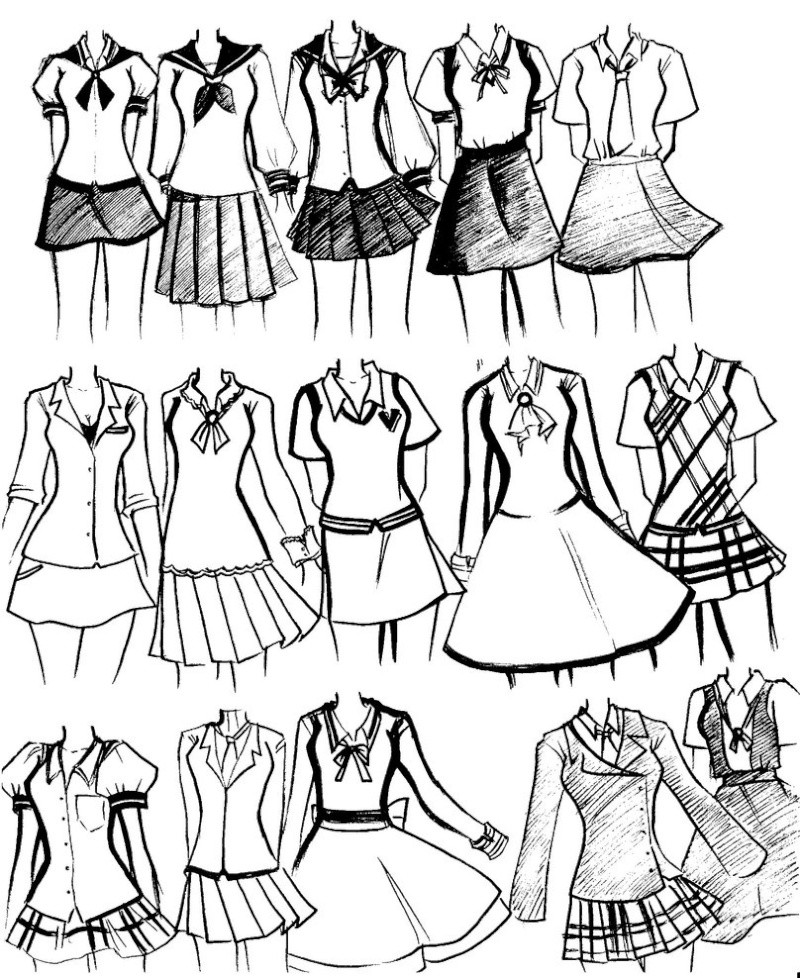 Cute Outfits For Girls In High School
