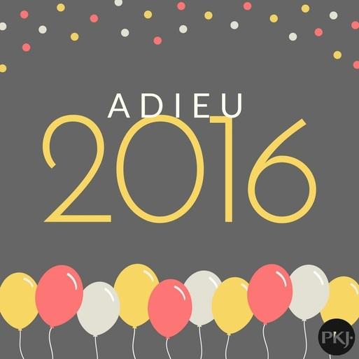Adieu 2016