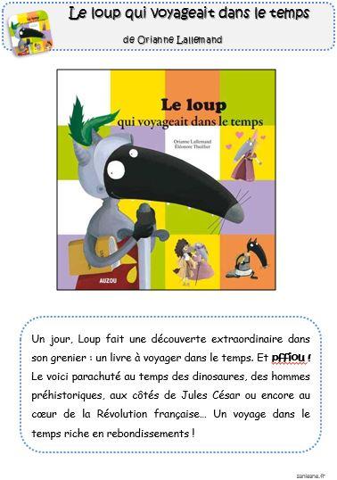 PDF  Le loup qui voyageait dans le temps - ac-reunion.fr
