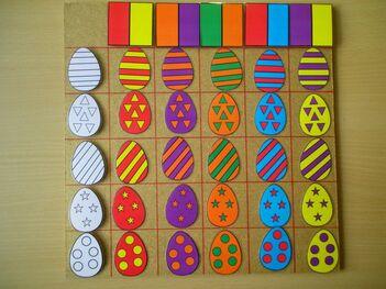 Autour des œufs
