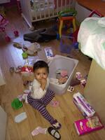 Soline a 19 mois