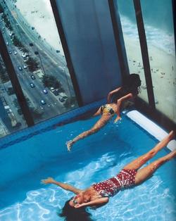 Une piscine avec une vue magnifique ! *-*