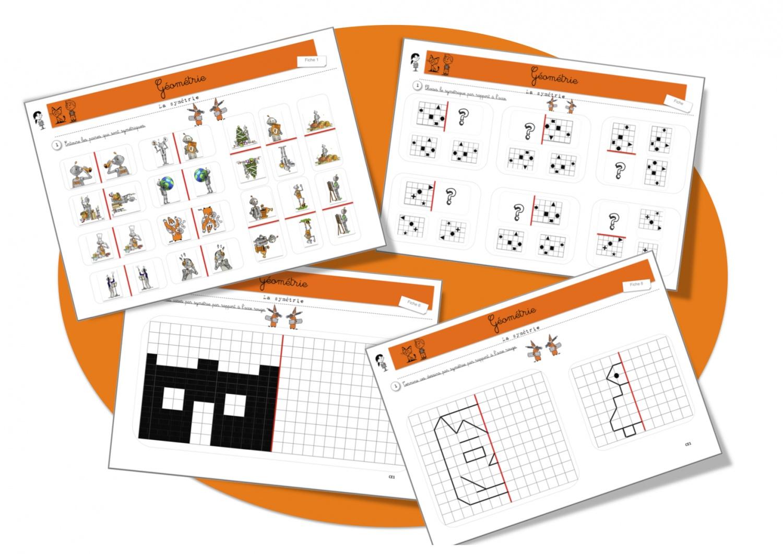 Maths: Géométrie: la symétrie | Bout de Gomme