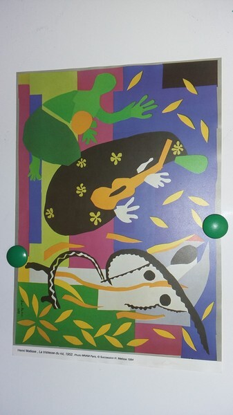 Henri Matisse La Tristesse Du Roi : henri, matisse, tristesse, Travail, Tableau, D'Henri, Matisse, Tristesse, 1952