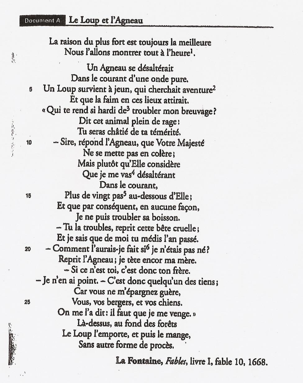 Jean De La Fontaine Le Loup Et L'agneau : fontaine, l'agneau, رئيس, وزن, ممر, Agneau, Fontaine, Outofstepwineco.com