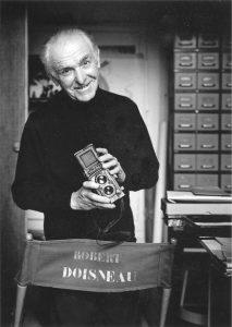 Robert Doisneau au Rolleiflex © Peter Hamilton