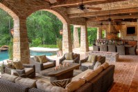 Outdoor Living Space - Eklektik Interiors Houston Texas