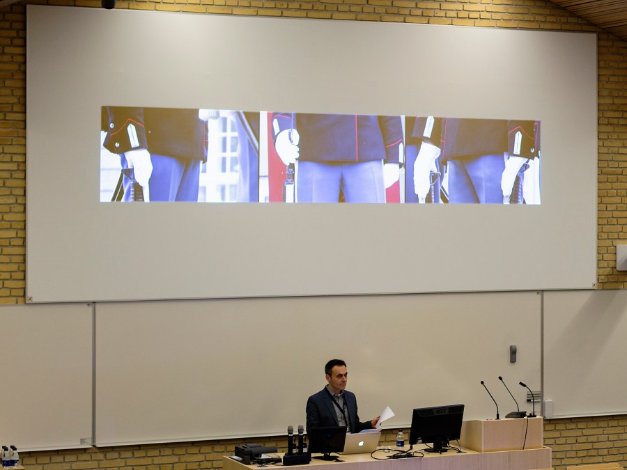 """Documentation from Timo Menke's and Nils Agdler's lecture at the conference """"Aesthetics, Ethics and Biopolitics of the Posthuman"""" at Aarhus university in Denmark, dec. 2015."""