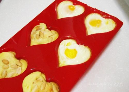 하트 모양 계란빵