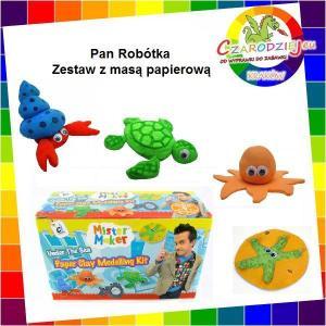 Mister Maker Zestaw Kreatywny Z Masą Papierową