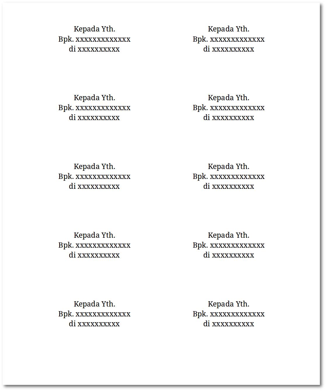 Ukuran Label Undangan 121 Tom & Jerry : ukuran, label, undangan, jerry, Mencetak, Label, Undangan, Ekobmi