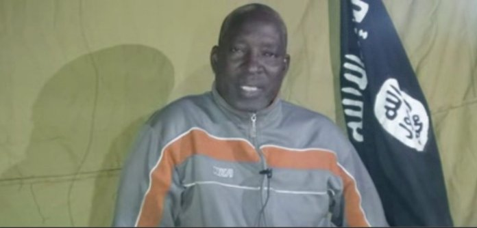 Abducted CAN Chairman Cries Out From Boko Haram Custody (Video)