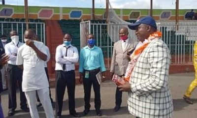 Popular Ebonyi Bishop Arrested And Church Sealed Off For Flouting Restriction Rules