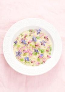 Květinové rizoto