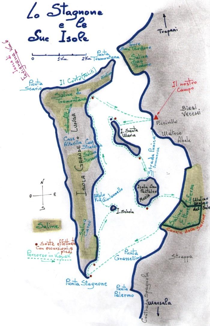 Arcipelago dello STAGNONE di MARSALA  Eko
