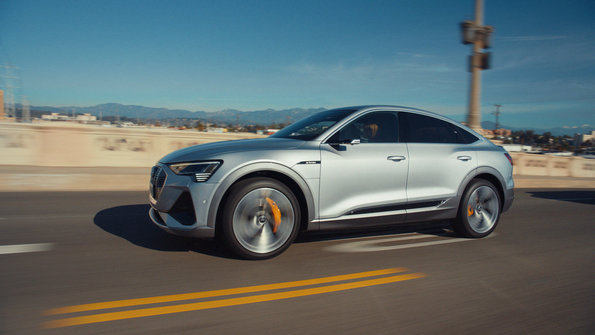 """The company returns to the biggest night in American football with a musically-inspired, 60-second commercial called """"Let It Go"""" featuring actor Maisie Williams. Williams takes the wheel of the all-new Audi e-tron Sportback to help kick off a global brand campaign about Audi's long-term ambition to shape a new era of sustainable mobility."""