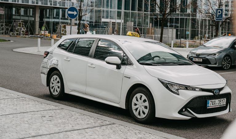 Hybridní taxi Profitaxi