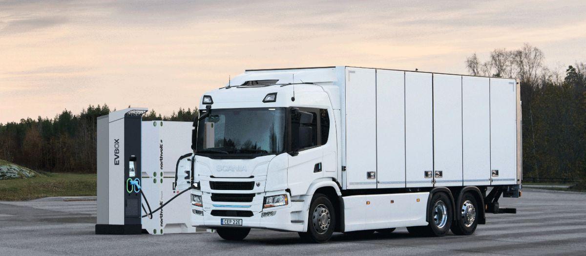 Scania-Northvolt-elektromobil