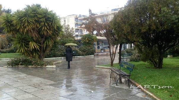 Κάποιοι άνθρωποι περπατάνε στη βροχή ενώ κάποιοι άλλοι απλώς……