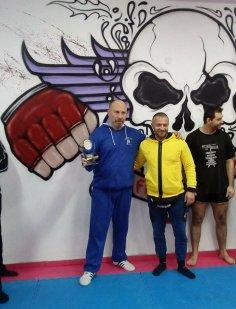Σεμιναριο kickboxing στη Fight Academy