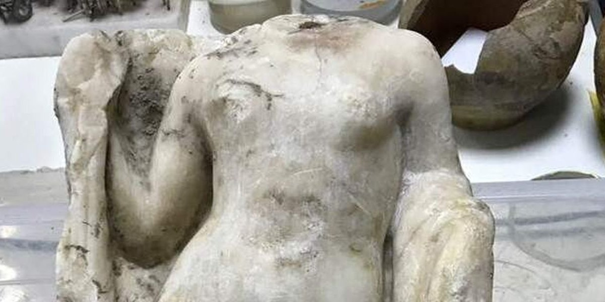 Βρέθηκε ανυπολόγιστης αξίας άγαλμα της Αφροδίτης στο μετρό της Θεσ/νίκης – Η Ιστορία απαντάει στα Σκόπια…