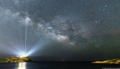 Η εκπληκτική φωτογραφία της NASA που ο ναός του Σουνίου «φωτίζει» τον Γαλαξία!